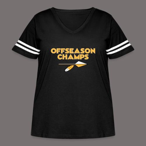 Offseason Champs - Women's Curvy Vintage Sport T-Shirt