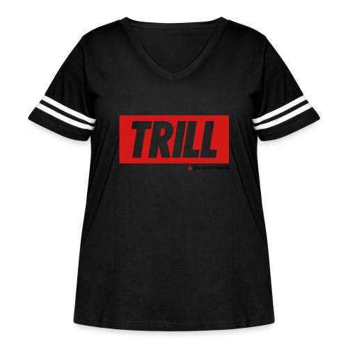 trill red iphone - Women's Curvy Vintage Sport T-Shirt
