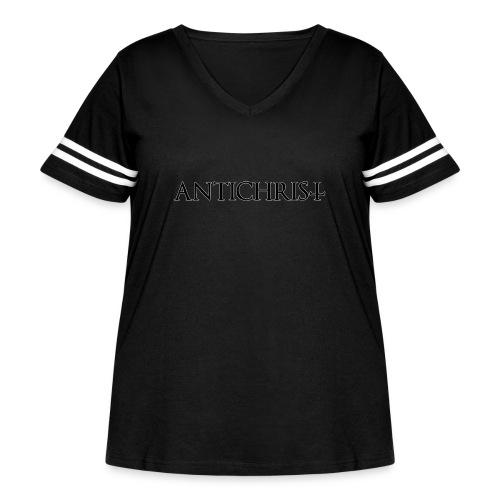 Antichrist - Women's Curvy Vintage Sport T-Shirt