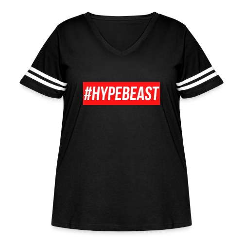 #Hypebeast - Women's Curvy Vintage Sport T-Shirt