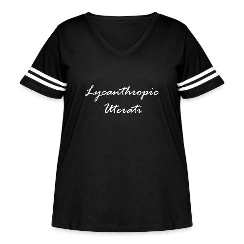 Lycanthropic Uterati - Women's Curvy Vintage Sport T-Shirt