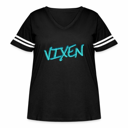 Vixen - Women's Curvy Vintage Sport T-Shirt