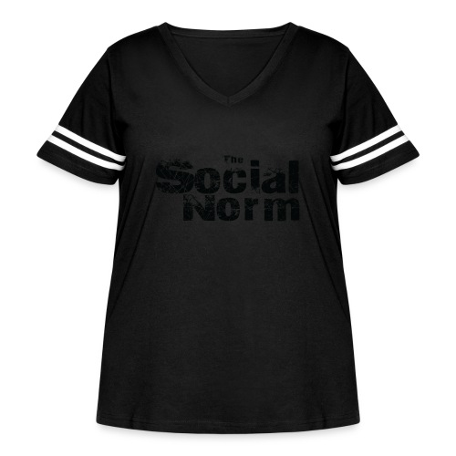 The Social Norm Official Merch - Women's Curvy Vintage Sport T-Shirt