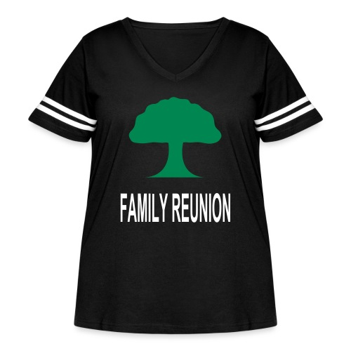 ***12% Rebate - See details!*** FAMILY REUNION add - Women's Curvy Vintage Sport T-Shirt