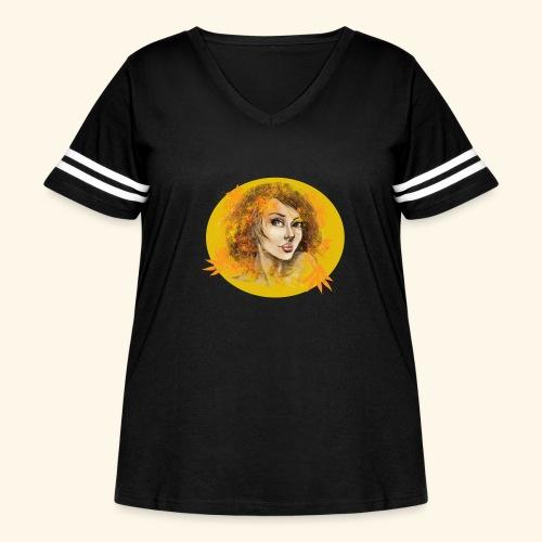 Regard - Women's Curvy Vintage Sport T-Shirt