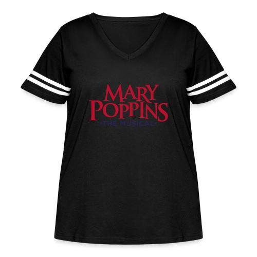 Mary Poppins - Women's Curvy Vintage Sport T-Shirt