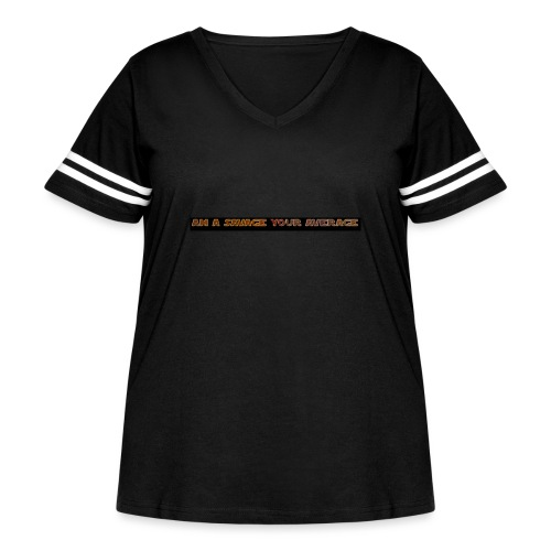 coollogo com 139932195 - Women's Curvy Vintage Sport T-Shirt