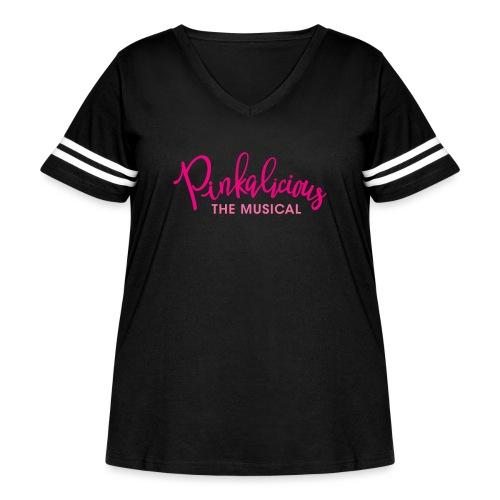 Pinkalicious - Women's Curvy Vintage Sport T-Shirt