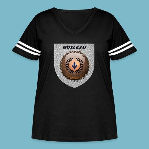 BOILEAU 1 - Women's Curvy Vintage Sport T-Shirt