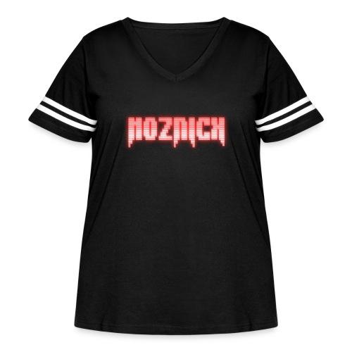 TEXT MOZNICK - Women's Curvy Vintage Sport T-Shirt