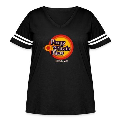 Penny Whistle Place - Women's Curvy Vintage Sport T-Shirt