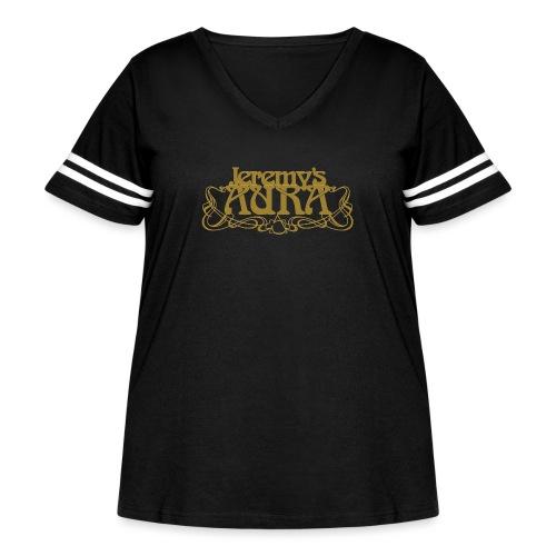 Jeremy's Art Nouveau Logo - Women's Curvy Vintage Sport T-Shirt