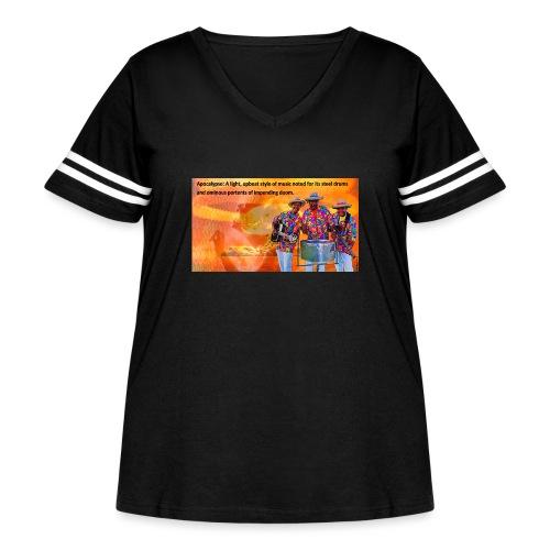 Apocalypso - Women's Curvy Vintage Sport T-Shirt