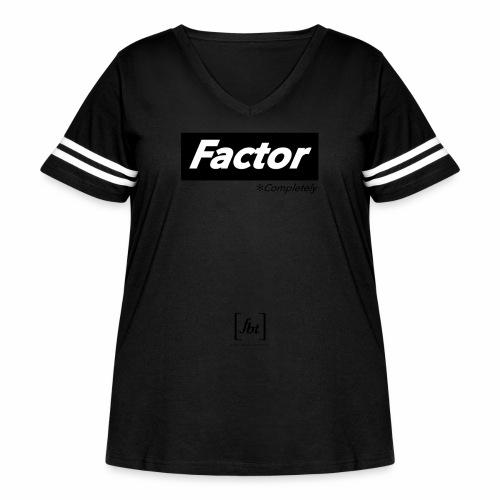 Factor Completely [fbt] - Women's Curvy Vintage Sport T-Shirt