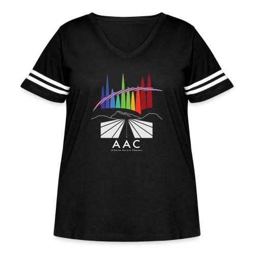Alberta Aurora Chasers - Men's T-Shirt - Women's Curvy Vintage Sport T-Shirt