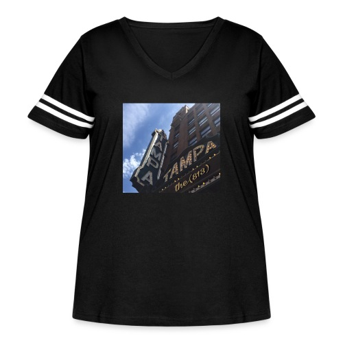 Tampa Theatrics - Women's Curvy Vintage Sport T-Shirt
