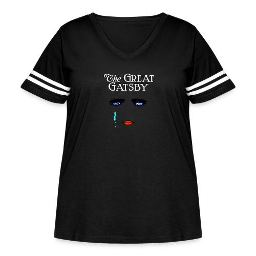 girlyteegraphic - Women's Curvy Vintage Sport T-Shirt