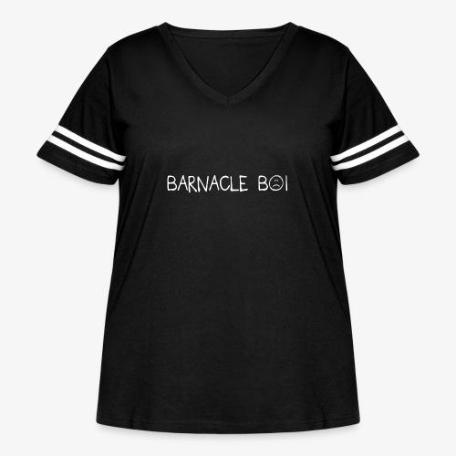 barnacle boi - Women's Curvy Vintage Sports T-Shirt