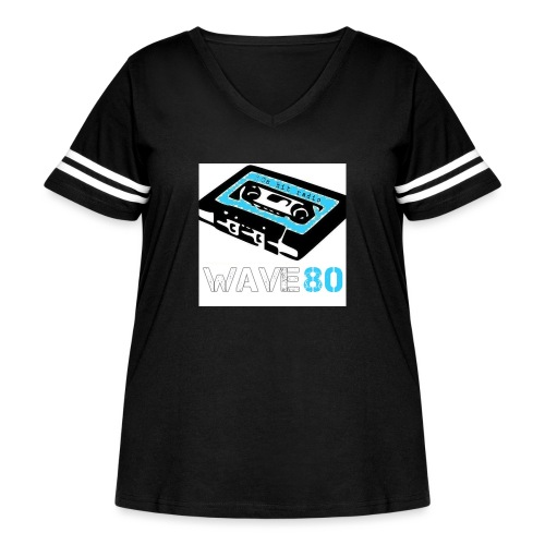 Alt Logo - Women's Curvy Vintage Sport T-Shirt