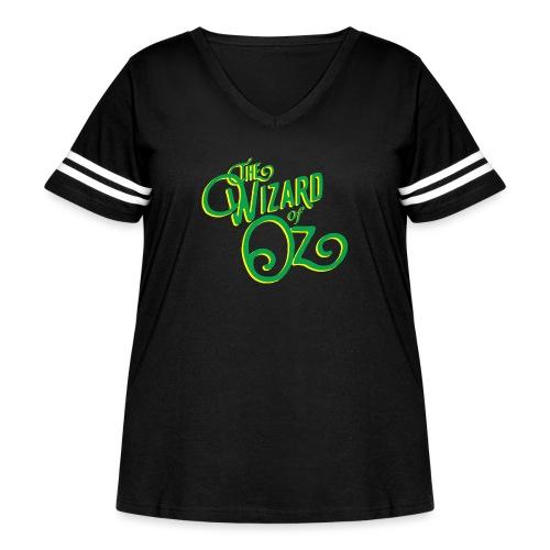 Wizard ofOz - Women's Curvy Vintage Sport T-Shirt