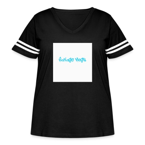 BBE7B1B4 6044 42AF A152 48208328D2C8 - Women's Curvy Vintage Sport T-Shirt