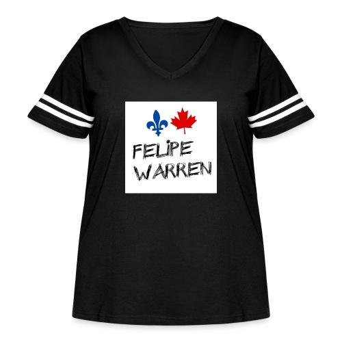 Profile Picture jpg - Women's Curvy Vintage Sport T-Shirt