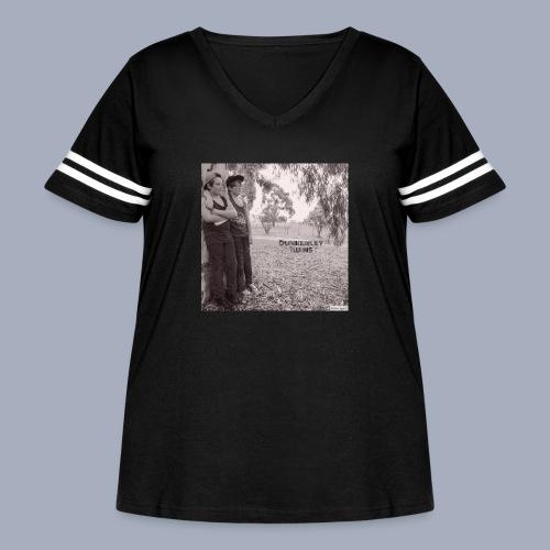 dunkerley twins - Women's Curvy Vintage Sport T-Shirt