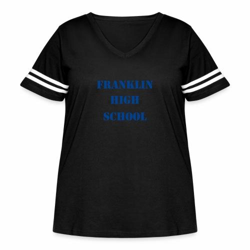 FHS Classic - Women's Curvy Vintage Sport T-Shirt