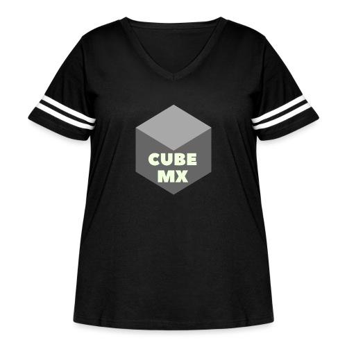 CubeMX - Women's Curvy Vintage Sport T-Shirt