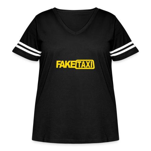 FAKE TAXI Duffle Bag - Women's Curvy Vintage Sport T-Shirt