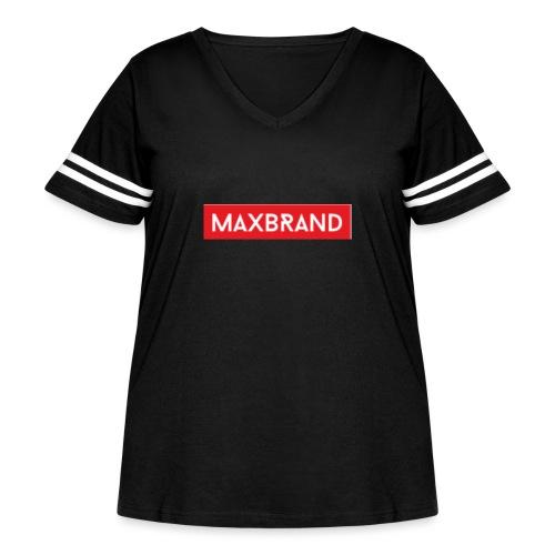 FF22A103 707A 4421 8505 F063D13E2558 - Women's Curvy Vintage Sport T-Shirt