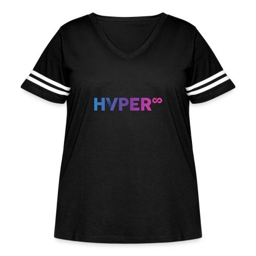 HVPER - Women's Curvy Vintage Sport T-Shirt