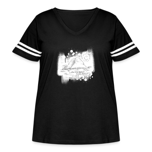 Listen to Hardrock - Women's Curvy Vintage Sport T-Shirt