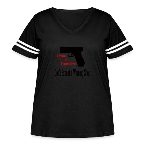 Ammo is Expensive - Women's Curvy Vintage Sport T-Shirt