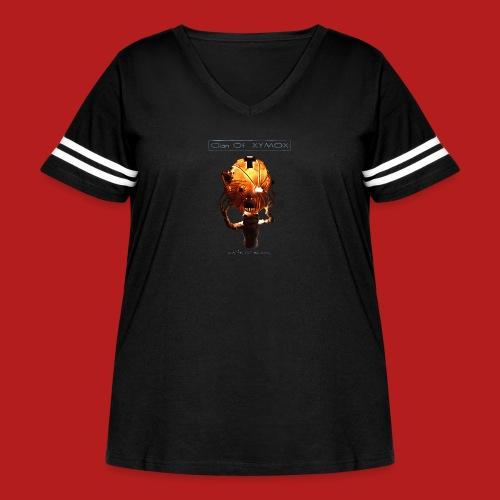 Days of Black Clan Of Xymox Album Shirt - Women's Curvy Vintage Sport T-Shirt