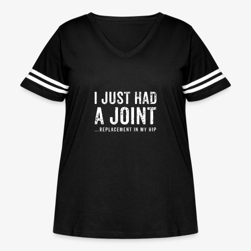 JOINT HIP REPLACEMENT FUNNY SHIRT - Women's Curvy Vintage Sport T-Shirt