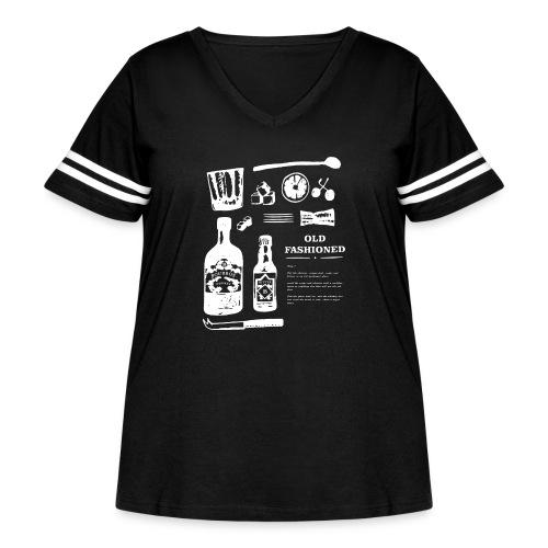 Old Fashioned - Women's Curvy Vintage Sport T-Shirt