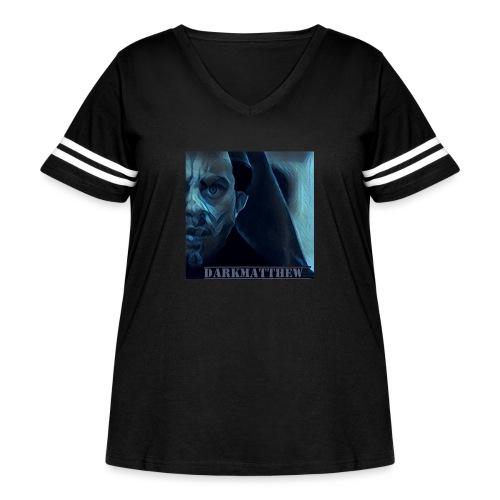 Dark Matthew - Women's Curvy Vintage Sport T-Shirt