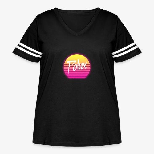 Una Vuelta al Sol - Women's Curvy Vintage Sports T-Shirt