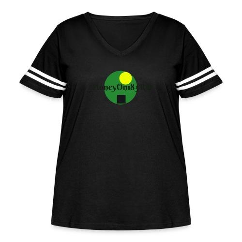MoneyOn183rd - Women's Curvy Vintage Sport T-Shirt