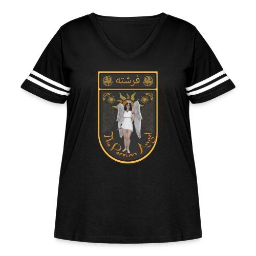 Persian Angel Anahita - Farsi Angel - Women's Curvy Vintage Sport T-Shirt