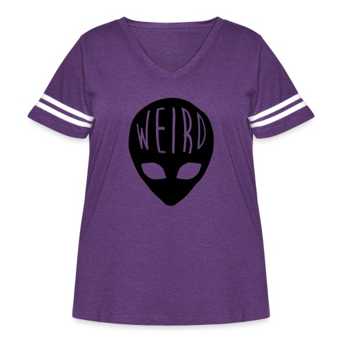 Out Of This World - Women's Curvy Vintage Sport T-Shirt