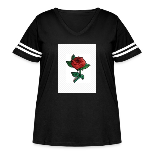 IMG 1324 - Women's Curvy Vintage Sport T-Shirt