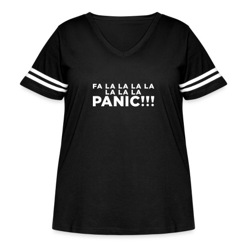 Funny ADHD Panic Attack Quote - Women's Curvy Vintage Sport T-Shirt