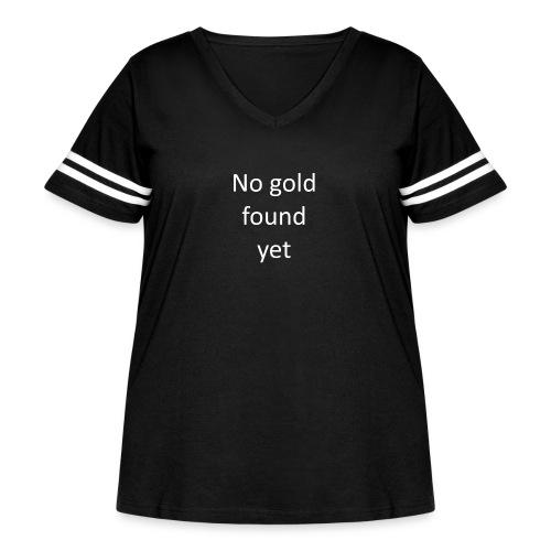 No gold found yet - Women's Curvy Vintage Sport T-Shirt