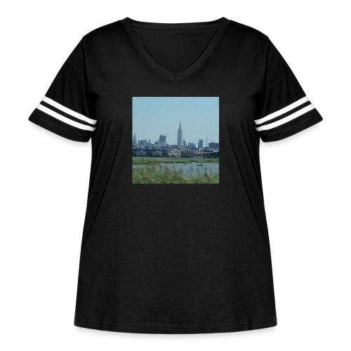 New York - Women's Curvy Vintage Sport T-Shirt