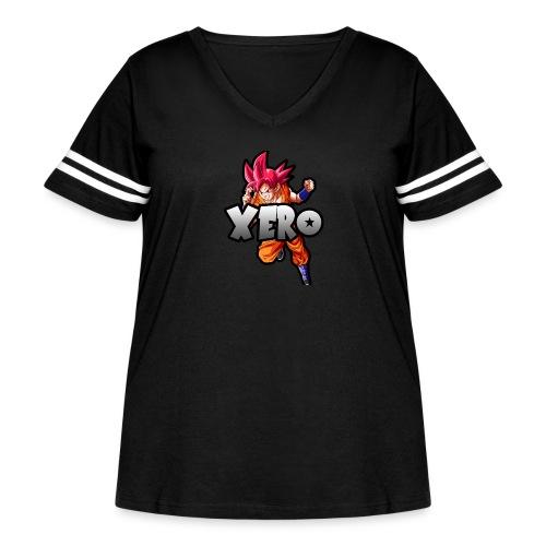 Xero - Women's Curvy Vintage Sport T-Shirt