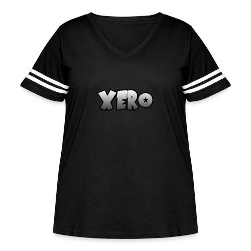 Xero (No Character) - Women's Curvy Vintage Sport T-Shirt