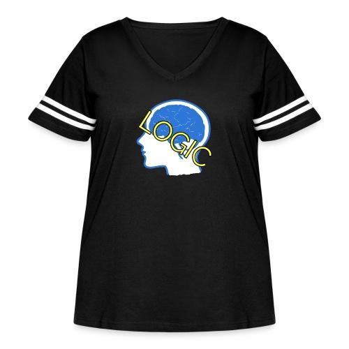 Logic - Women's Curvy Vintage Sport T-Shirt