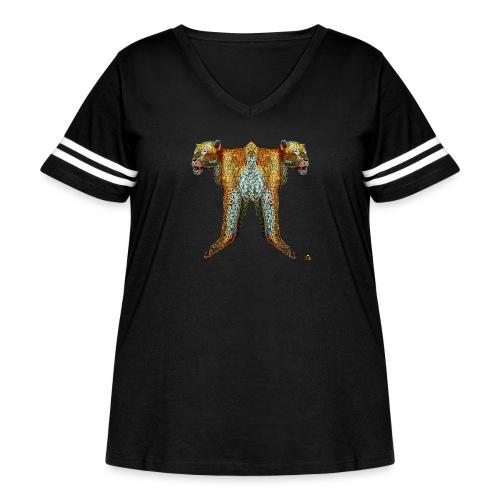 Always Together - Women's Curvy Vintage Sport T-Shirt